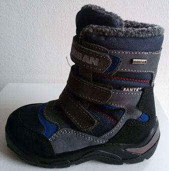 8884ffe3e68c Dětská zimní obuv s membránou Santé OR RX35806 SQUALO modrá