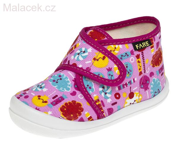 Dětské papuče na suchý zip 4012446 6049c2eac0