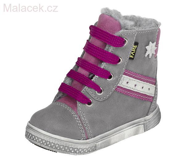Dětské zimní boty kotníkové 2148151 69b615772c