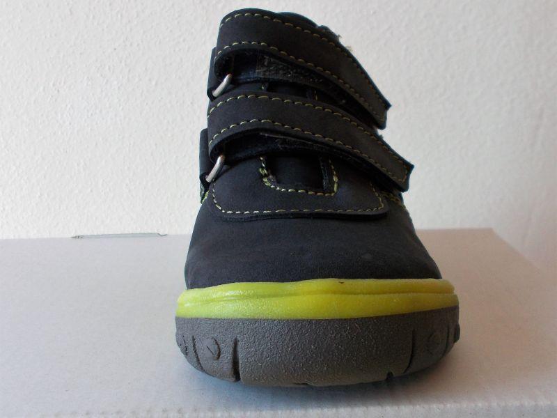 ea8b1f92c3a Celoroční kožená obuv SANTÉ HP 4912 Šedo-zelená