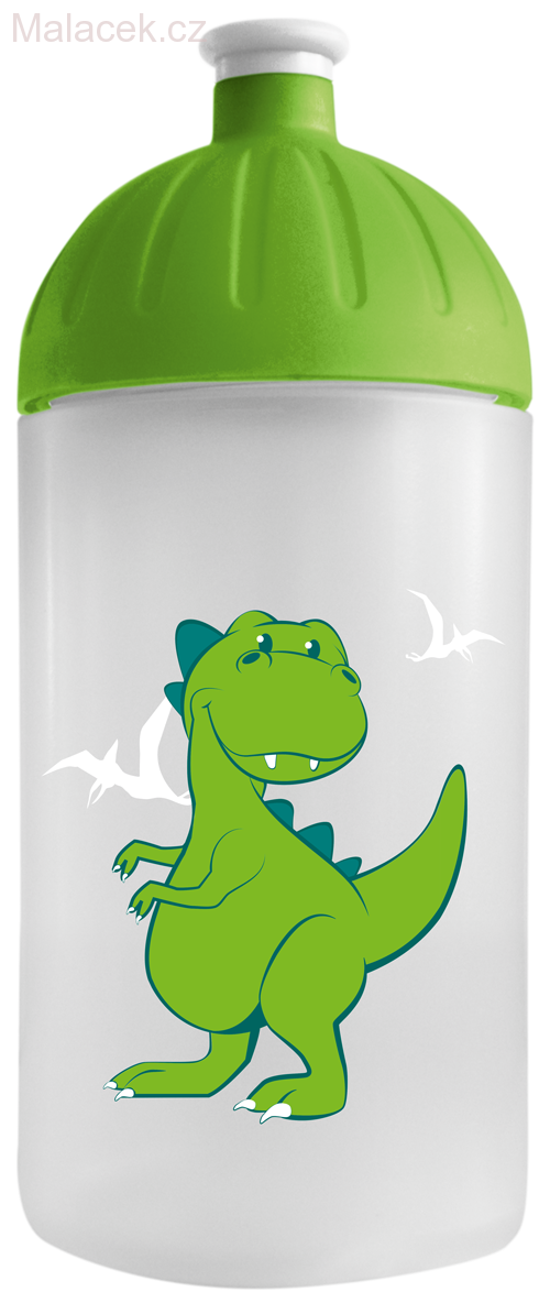FreeWater lahev 500ml Dino transparentní