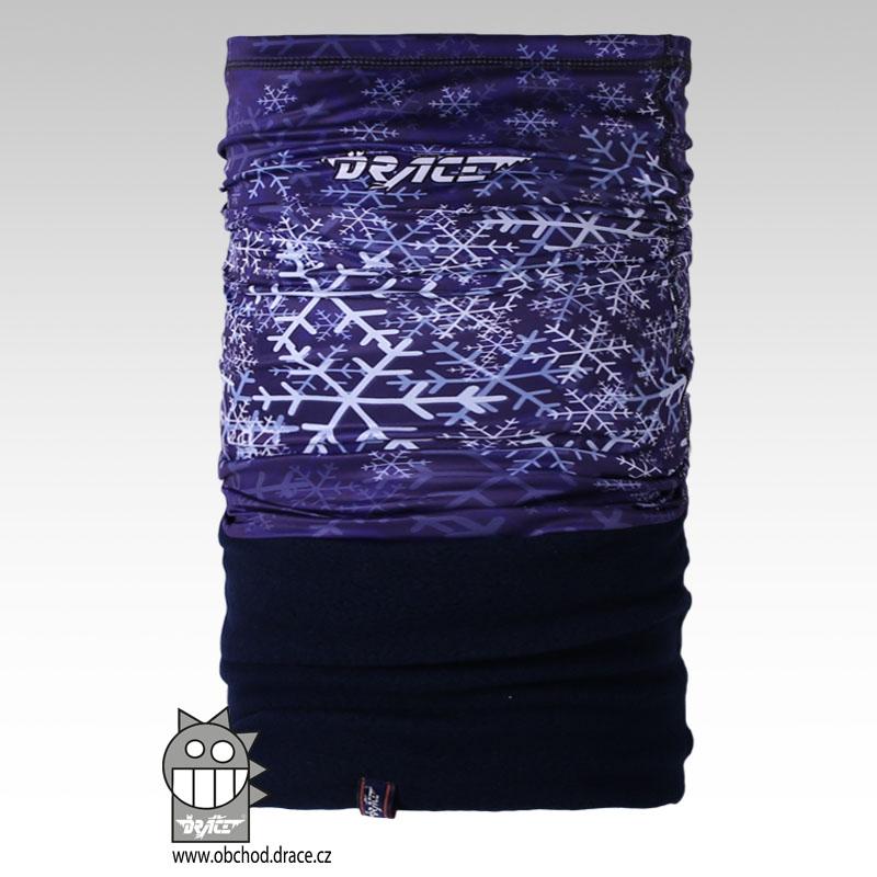 4b3d156a3e1 Šátek - nákrčník multi fleece vzor 27 (tmavě modrá