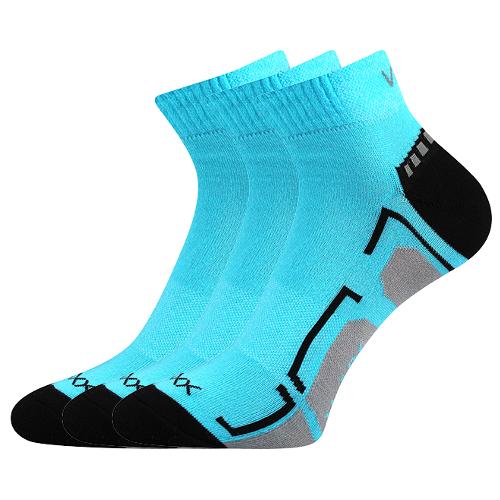 79214bd4804 Sportovní ponožky Flashik neon tyrkysová