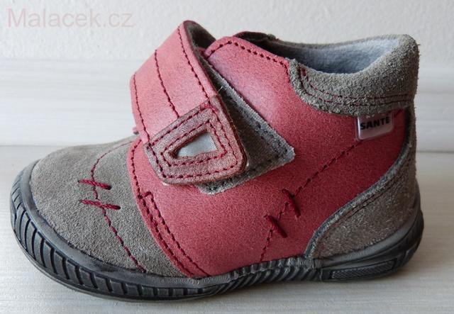 Celoroční dětské boty SANTÉ 73492cbfce