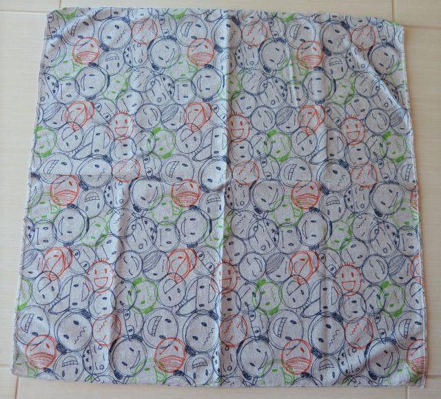 Bavlněný šátek - čtverec pro všestranné využití f9f3e89457