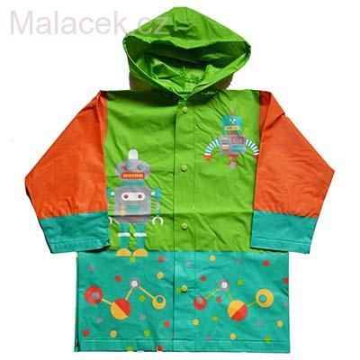 Dětská pláštěnka Pidilidi s motivem robota 0dce26d8d03