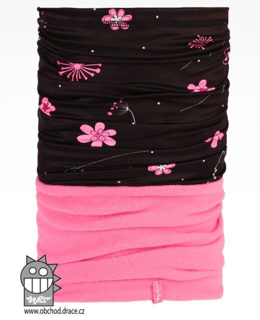 Šátek - nákrčník multi fleece vzor 31 (černá 00ff7134f1