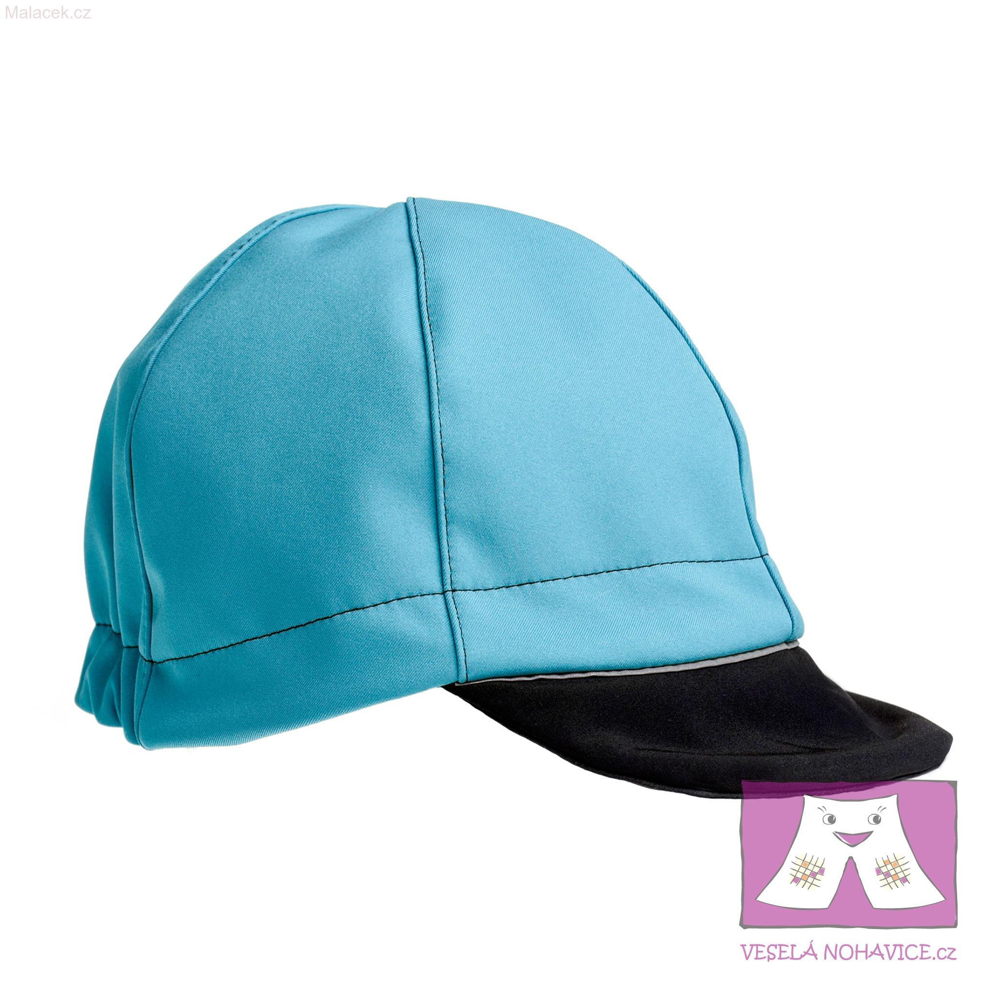 Softshellová čepice středně modro-černá 5c09793b9c