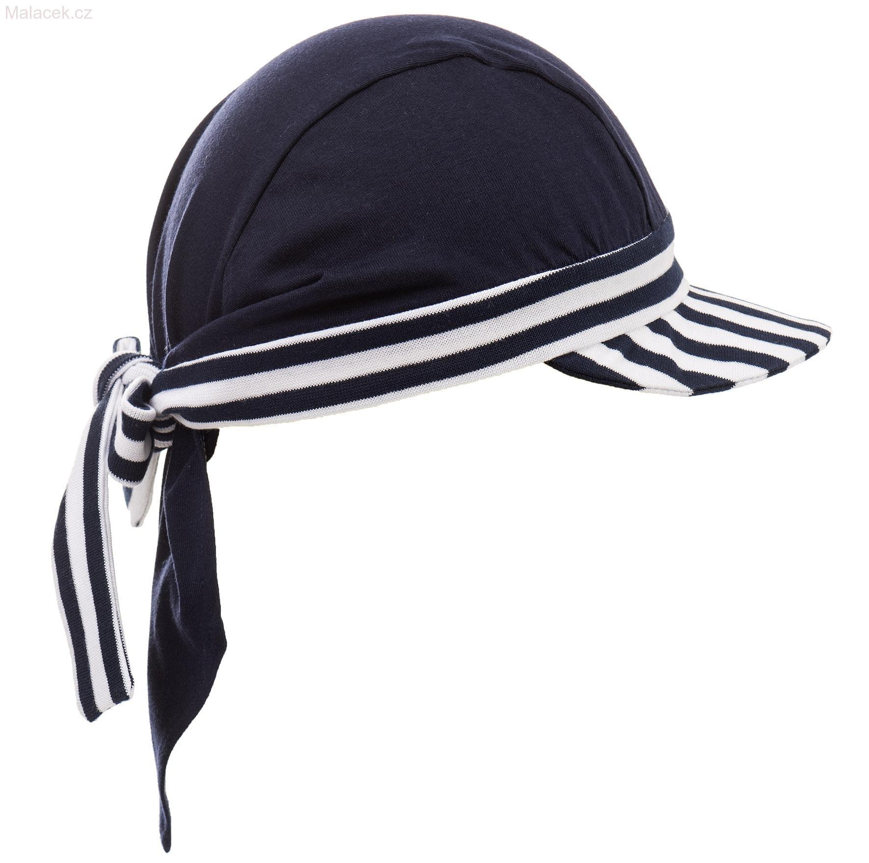 5cbe5c9868a Pirátský šátek s kšiltem námořnický