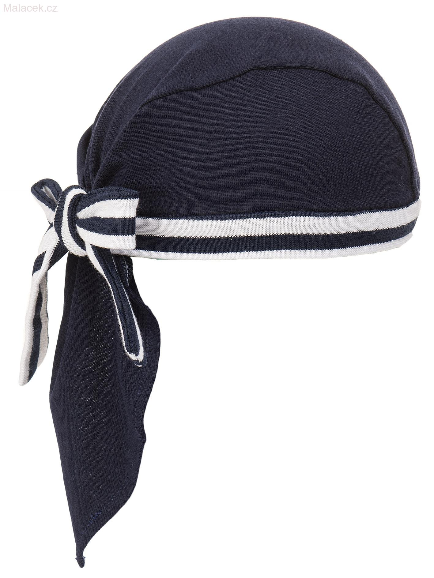be17ae481d8 Pirátský šátek bez kšiltu námořnický